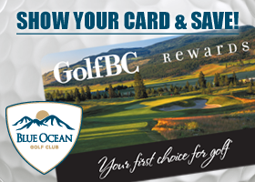 Show your card and SAVE at Blue Ocean!